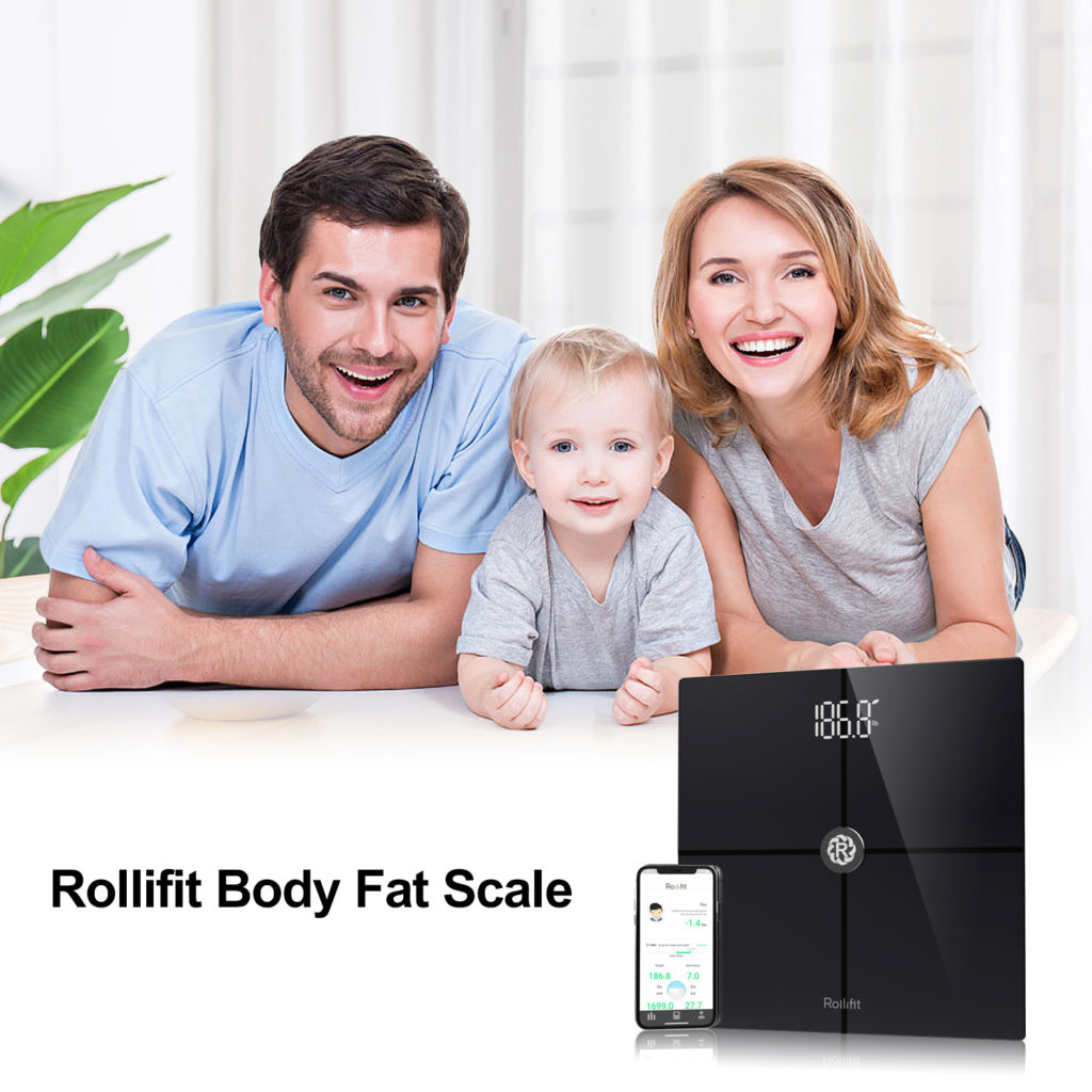 ad for rollifit body fat scale